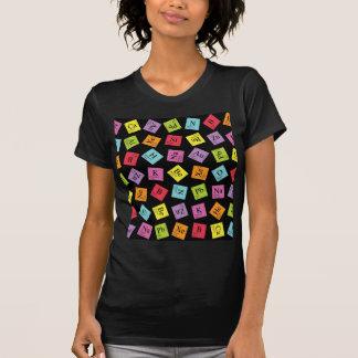 Elementärt periodiskt (mörk) t shirt
