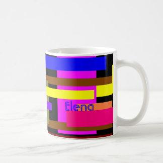 Elenas kaffemugg vit mugg