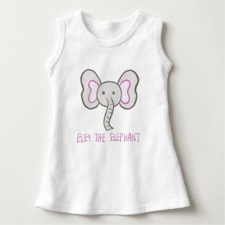 Eley elefanten - småbarnklänning tröja