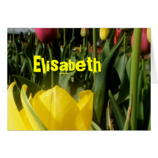 Elisabet Hälsningskort