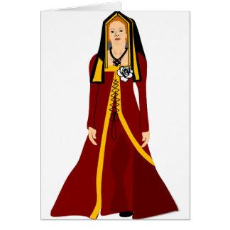 Elizabeth av York Hälsningskort