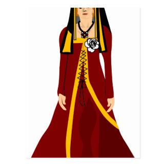Elizabeth av York Vykort
