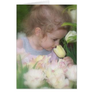 elizabeth blomma hälsningskort