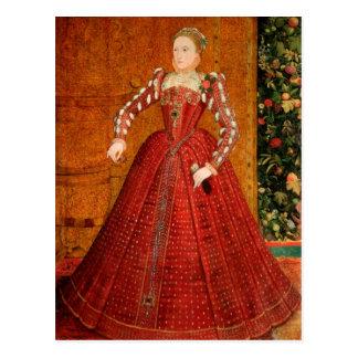 """Elizabeth mig av England (""""det Hampden porträtt"""") Vykort"""