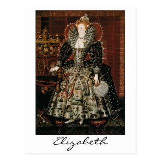 Elizabeth mig vykort