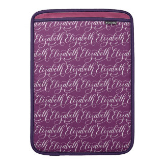 Elizabeth - modern Calligraphynamndesign MacBook Sleeve