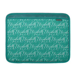 Elizabeth - modern Calligraphynamndesign Sleeve För MacBook Air