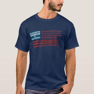 Elizabeth Warren för president Tshirts