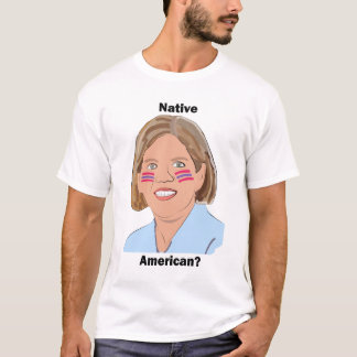 Elizabeth Warren - indian? T-shirts