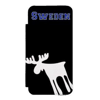 Älg / Moose, vit, Sweden