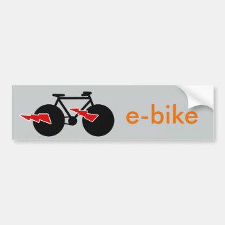 elkraft-cykel e-cykel bildekal