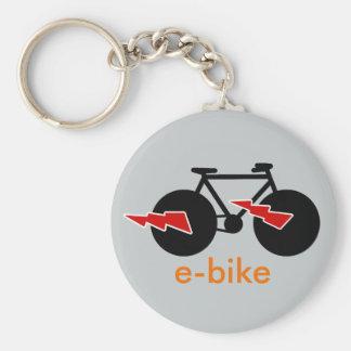 elkraft-cykel e-cykel rund nyckelring