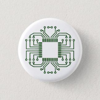 Elkraften går runt stiger ombord processorn mini knapp rund 3.2 cm