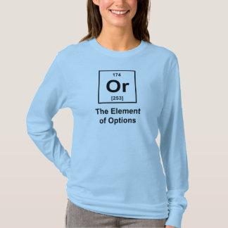 Eller inslag av alternativ t shirts