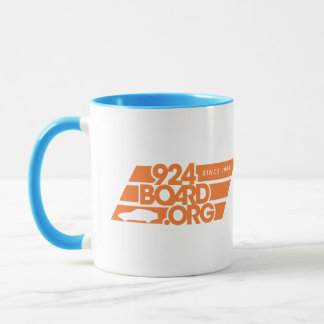 Eller = orange mugg