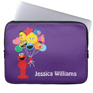 Elmo ballonger | tillfogar ditt namn laptop sleeve