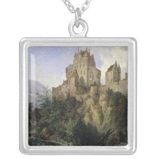Eltz slott silverpläterat halsband