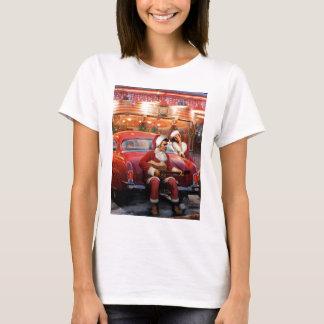 Elvis och Marilyn jul T-shirts
