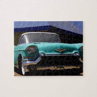 Elvis Presley grön Cadillac cabriolet in Pussel