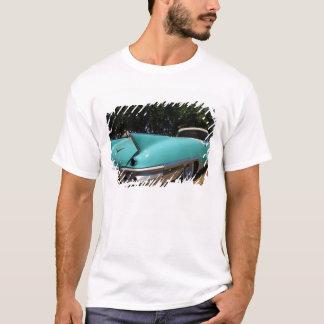 Elvis Presley grön Cadillac cabriolet in T Shirt