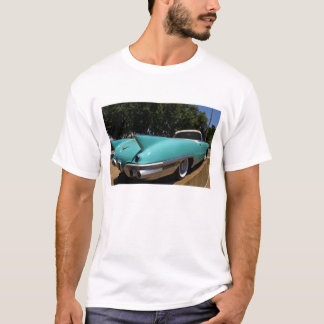 Elvis Presley grön Cadillac cabriolet in Tee Shirt