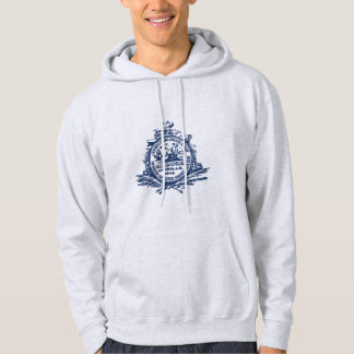 Emblem av Charleston, South Carolina Sweatshirt Med Luva