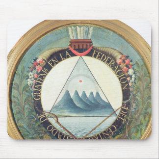 Emblem av federationen av Guatemala Musmatta