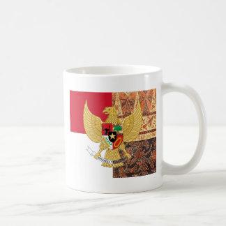 Emblem av Indonesien - den Garuda Pancasila Kaffemugg