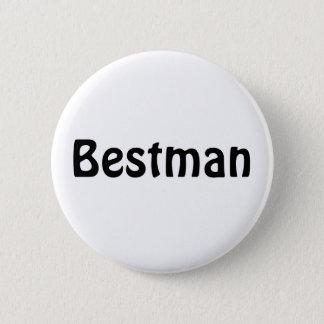 Emblem - Bestman Standard Knapp Rund 5.7 Cm