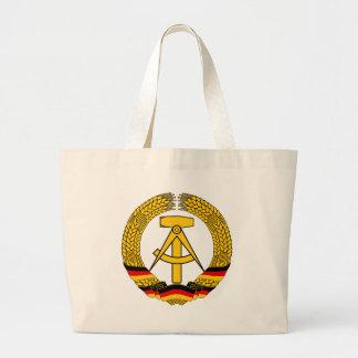 Emblem der DDR - medborgareemblemen av GDREN Jumbo Tygkasse