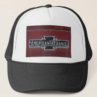 Emblem för amerikanLaFrance Firetruck Truckerkeps