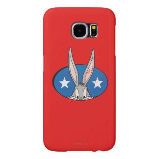 Emblem för BUGS BUNNY ™stjärnor Samsung Galaxy S6 Fodral