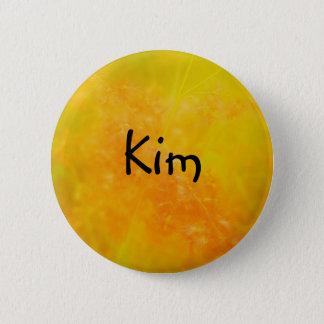 EMBLEM för det Kim knäppas det beställnings- nätt Standard Knapp Rund 5.7 Cm