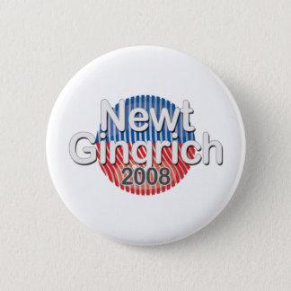 emblem-Newt Gingrich Standard Knapp Rund 5.7 Cm