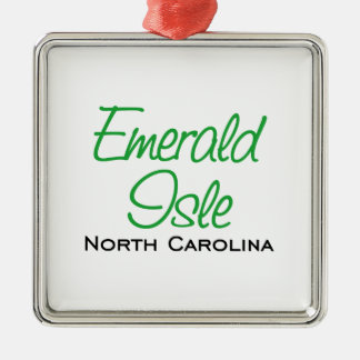 Emerald Isle NC Julgransprydnad Metall