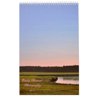 Emily avskedfotografi kalender