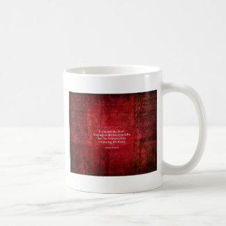 Emily Bronte inspirera citationstecken Kaffemugg
