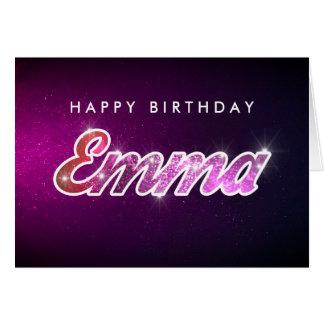 Emma födelsedagkort hälsningskort