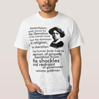 Emma Goldman citationstecken Tee Shirts
