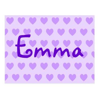 Emma i lilor vykort