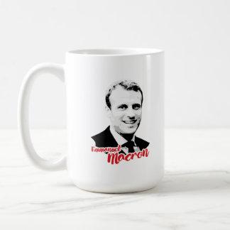 Emmanuel Macron häfte - Kaffemugg