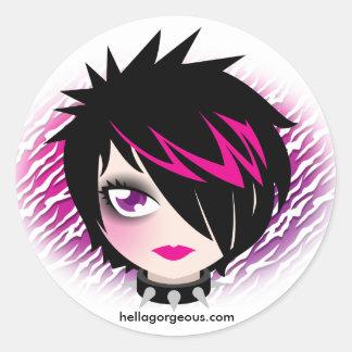 Emo Cutie klistermärke