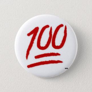 emoji 100 klämmer fast standard knapp rund 5.7 cm