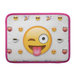 """Emoji """"13"""" flytta sig mycket långsamt iMacsleeven MacBook Sleeves"""