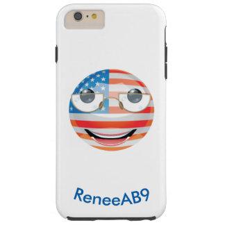 "Emoji ""amerikan"" vid ReneeAB9 Tough iPhone 6 Plus Skal"
