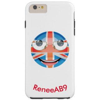 "Emoji ""britt"" vid ReneeAB9 Tough iPhone 6 Plus Skal"
