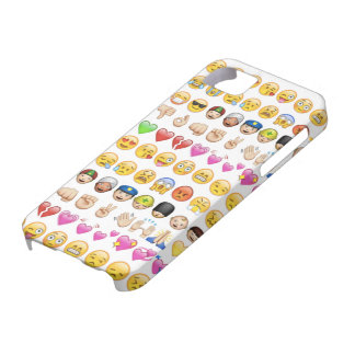 Emoji fodral för iPhonen 5/5s iPhone 5 Cover