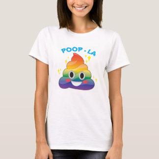 Emoji för regnbågegnistraPoop Poop-LA skjorta T Shirts