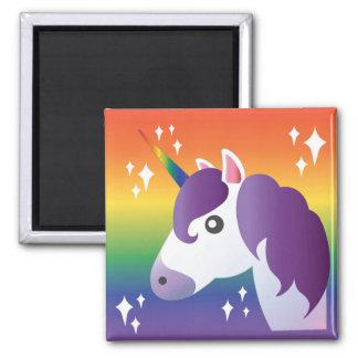 Emoji för regnbågeUnicorngnistra magnet