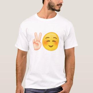 Emoji inspirerade freddesign t-shirt